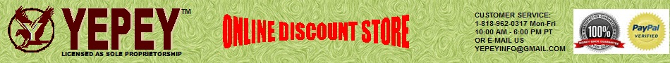 ONLINE DISCOUNT STORE! DISCOUNTED ITEMS - CLEARANCE ITEMS!